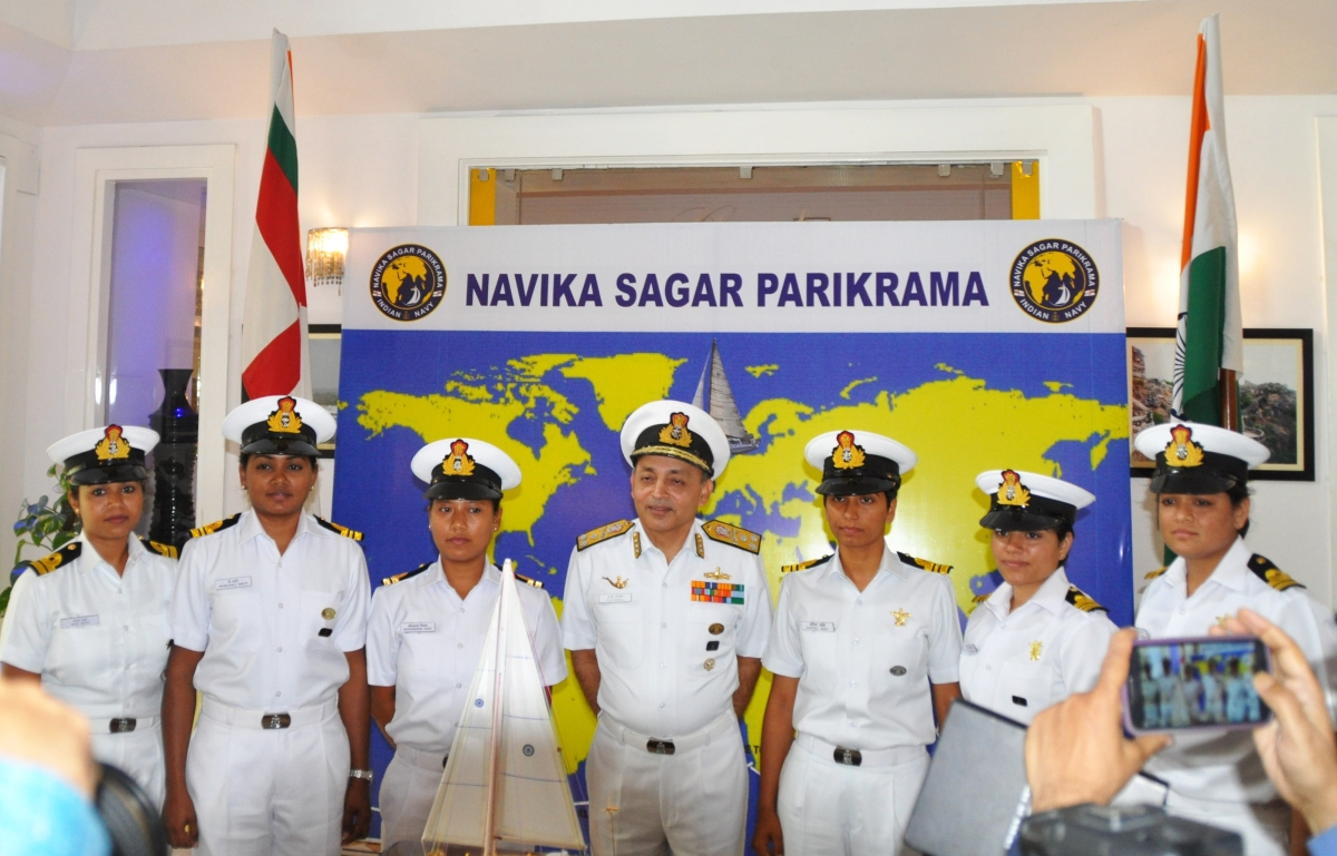 theprint.in - ThePrint - All-woman Navy team set to circle the globe and break a few barriers